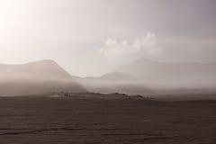 Vulcão em Indonésia Fotos de Stock