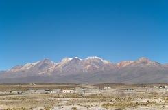 Vulcão em Peru fotografia de stock royalty free