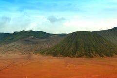 Vulcão Indonésia de Bromo Fotografia de Stock