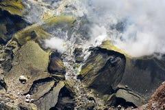 Vulcão Kerinci fotografia de stock royalty free