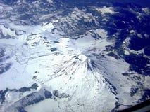 Vulcão nas montanhas de Andes, Patagonia chileno Imagem de Stock