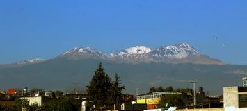 Vulcão nevado no toluca México imagens de stock royalty free