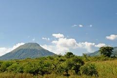 Vulcão Nicarágua de Momtombo imagens de stock royalty free