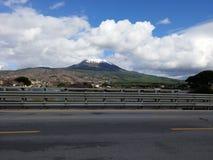 Vulcão o Vesúvio Fotografia de Stock