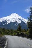 Vulcão Osorno fotos de stock royalty free