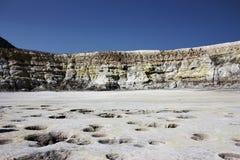 Vulcão sulfúrico Imagem de Stock