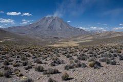 Vulcão Ubinas foto de stock royalty free