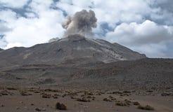 Vulcão Ubinas fotos de stock royalty free