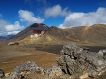 Vulcões Imagem de Stock Royalty Free