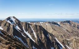 Vulcões das montanhas Fotografia de Stock