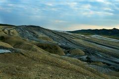 Vulcões em Berca, Romania da lama Fotos de Stock Royalty Free