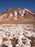 Vulc?o de Juriques - reserva de Eduardo Avaroa Andean Fauna National, Bol?via fotos de stock royalty free