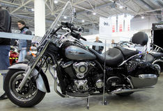 vulcan川崎的motobike 免版税库存图片