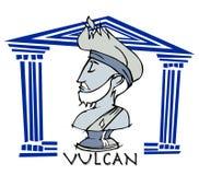 Vulcan, Greek God Cartoon Stock Images