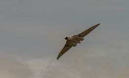 Vulcan Bomber in Flight Royalty Free Stock Images