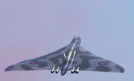 Vulcan Bomber take off Stock Image