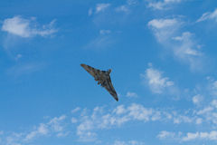 Vulcan bomber used by the British RAF Royalty Free Stock Photos