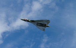 Vulcan bomber used by the British RAF Stock Images