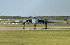 Vulcan bombowiec XH558 Zdjęcie Royalty Free