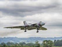 vulcan bombplan Royaltyfri Bild