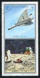 Vulcan bombplan och Apollo Arkivbild