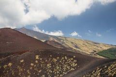 vulcan etna Arkivfoton