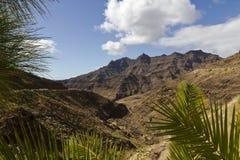 Vulcan Landscape at Gran Canary Royalty Free Stock Image