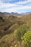 Vulcan Landscape at Gran Canarias Royalty Free Stock Images