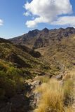 Vulcan Landscape at Gran Canary Royalty Free Stock Photo