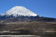 Vulcan Parinacota Royalty Free Stock Images