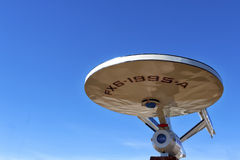 Vulcan Starship Στοκ Εικόνες
