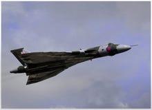 Vulcan in volo Immagine Stock Libera da Diritti