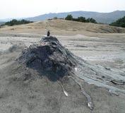 Vulcani del fango di Berca Fotografie Stock Libere da Diritti