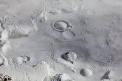 Vulcani del fango e coni del fango Fotografia Stock Libera da Diritti