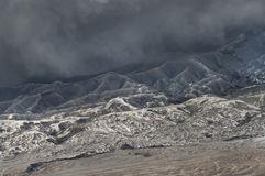 Vulcani della sosta nazionale di Bromo, Indonesia Fotografie Stock