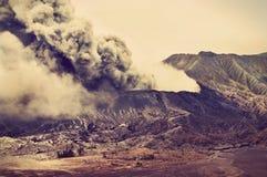 Vulcani della sosta nazionale di Bromo, Indonesia Fotografia Stock Libera da Diritti