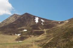 Vulcani delle montagne Fotografia Stock