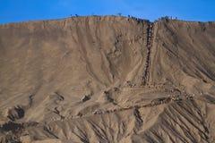Vulcani di Bromo, Java, Indonesia Immagini Stock Libere da Diritti