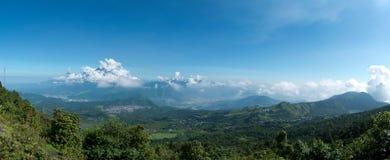 Vulcani guatemaltechi Fotografia Stock Libera da Diritti