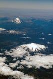 Vulcani nel Cile Fotografia Stock Libera da Diritti