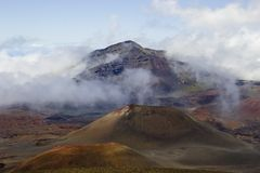 vulcanic的远景 免版税库存图片