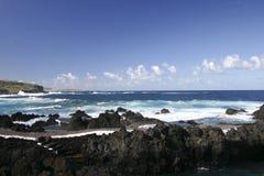 Vulcanic coastline of Tenerife Royalty Free Stock Photography