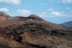 Vulcanic Landscape royalty free stock photography