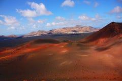 Vulcanic landscape Royalty Free Stock Image
