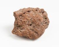 Vulcanic skały kruszec na białym tle Obrazy Royalty Free