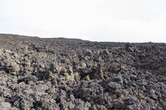 Vulcanic skały tekstura Zdjęcie Royalty Free