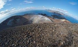 vulcano ηφαιστείων όψης νησιών κρ&alph Στοκ φωτογραφίες με δικαίωμα ελεύθερης χρήσης
