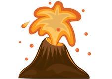 Vulcano illustrazione di stock