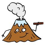 Vulcano illustrazione vettoriale