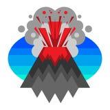 vulcano Immagini Stock